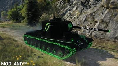 """KV-5 """"Nvidia-Style black"""" 1.1 [1.0.1.1], 3 photo"""